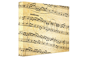 Sheet Music Canvas Print – Wall Art