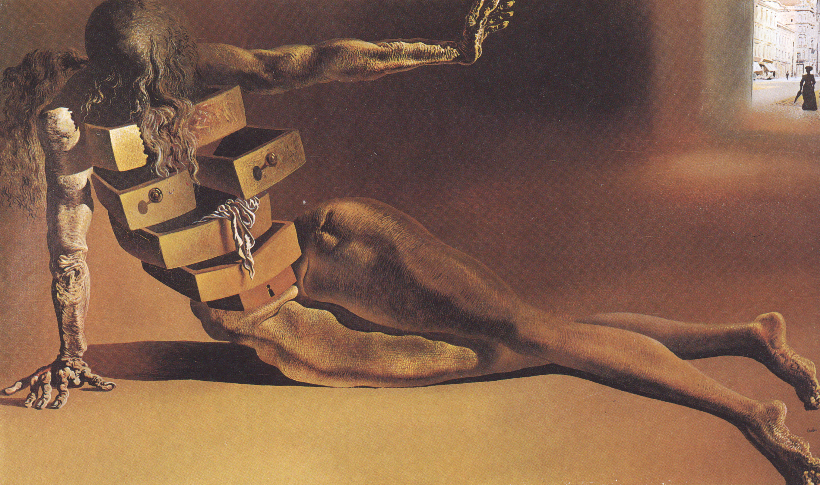 City of Drawers 1936 By Dali
