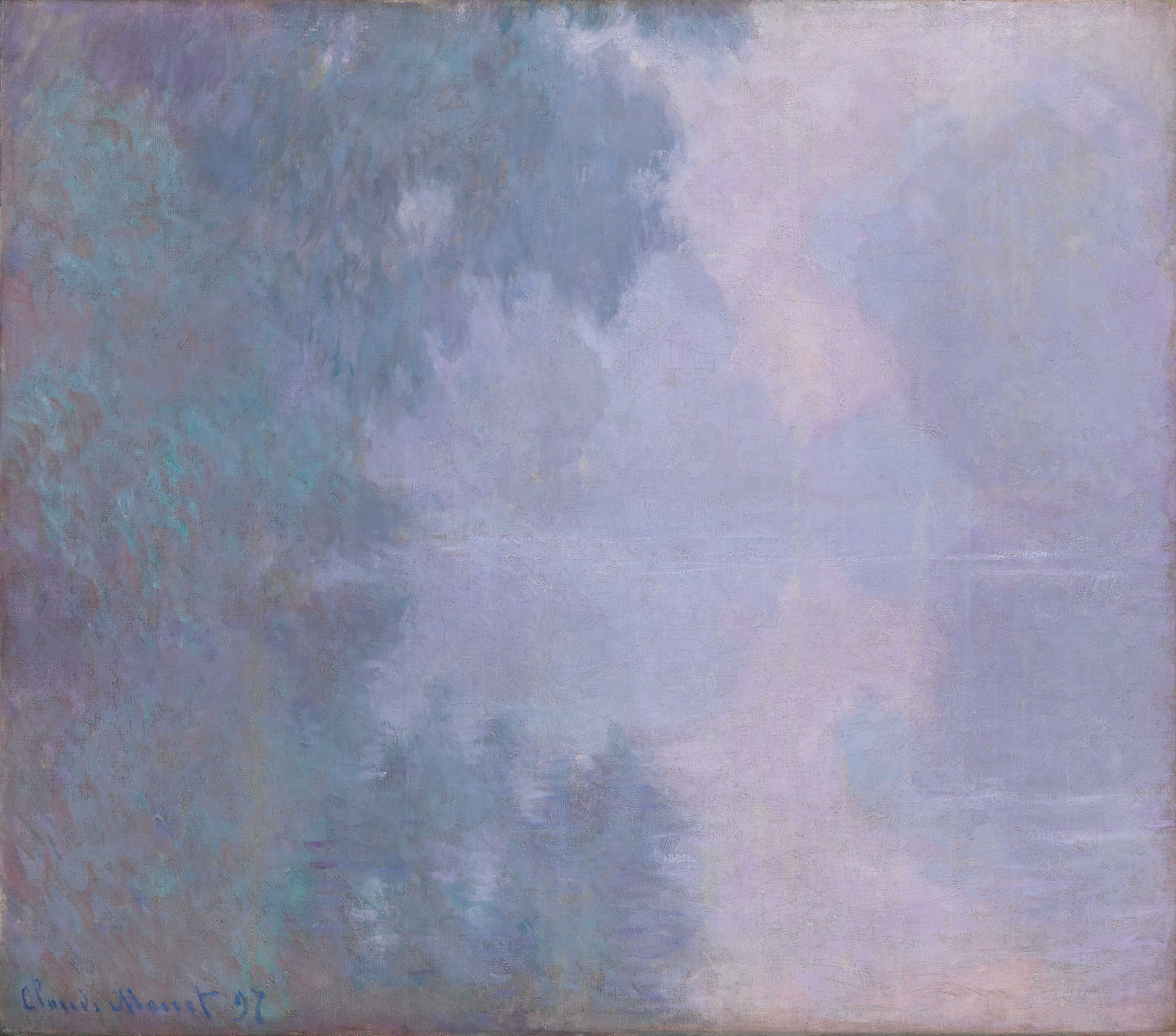 Claude Monet - Morning on the Seine 1897