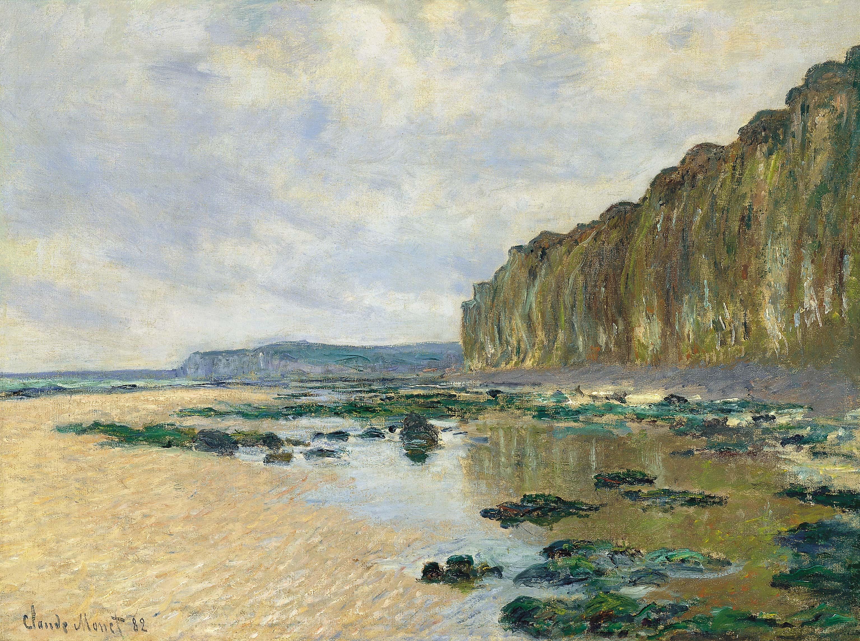 Claude Monet - On the Cliff at Pourville 1882