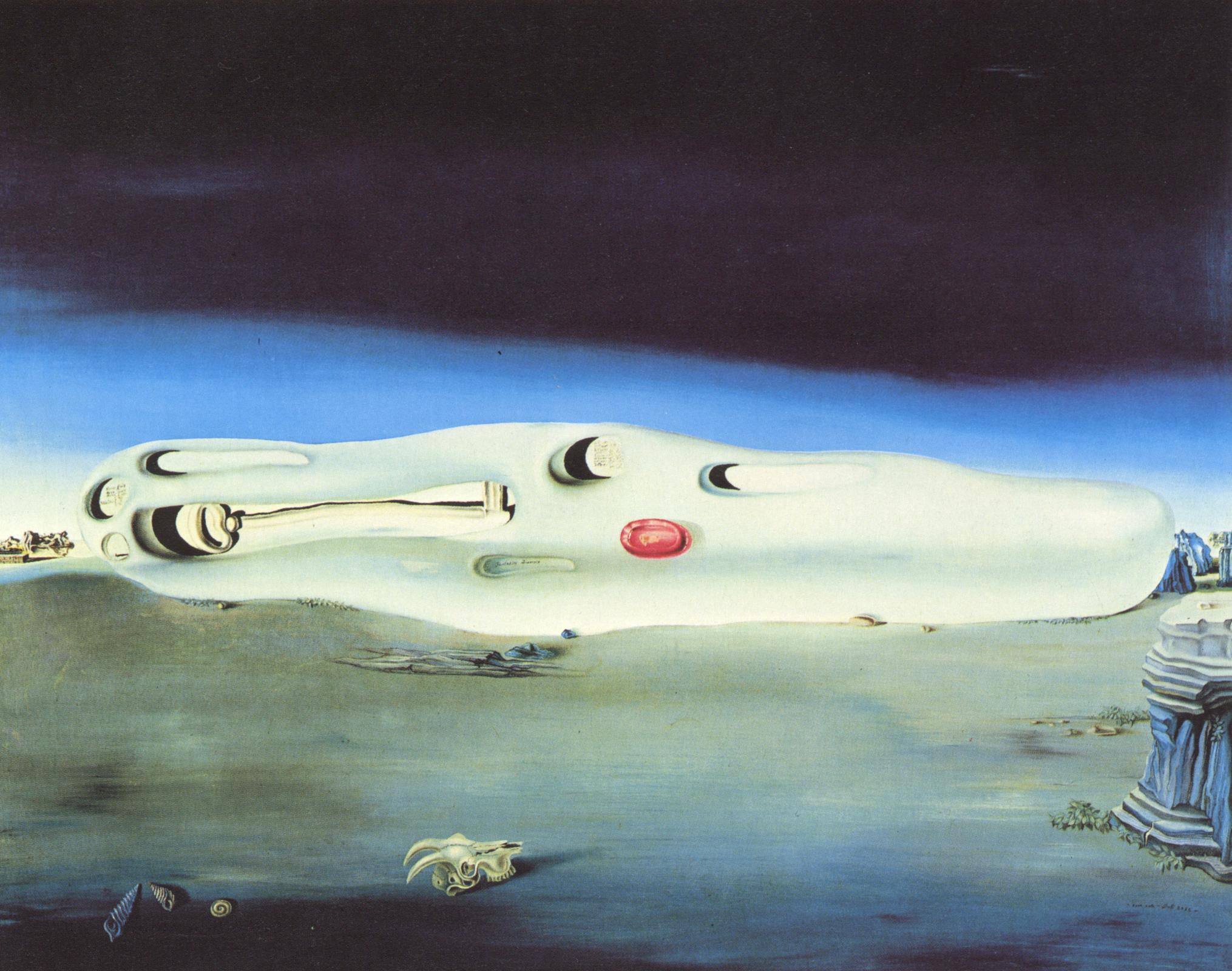 Diurnal Fantasies 1932 By Salvador Dali
