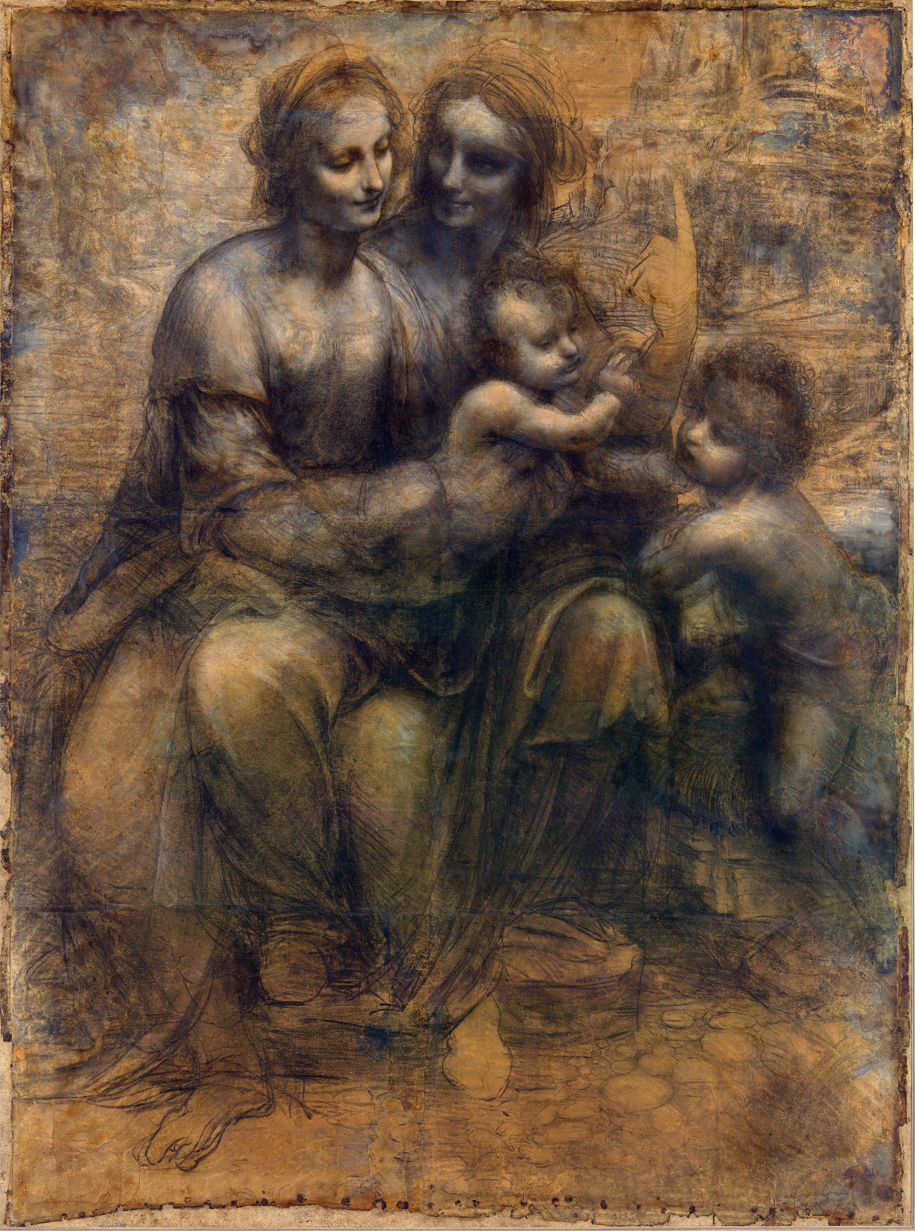 Leonardo Vinci St Anne