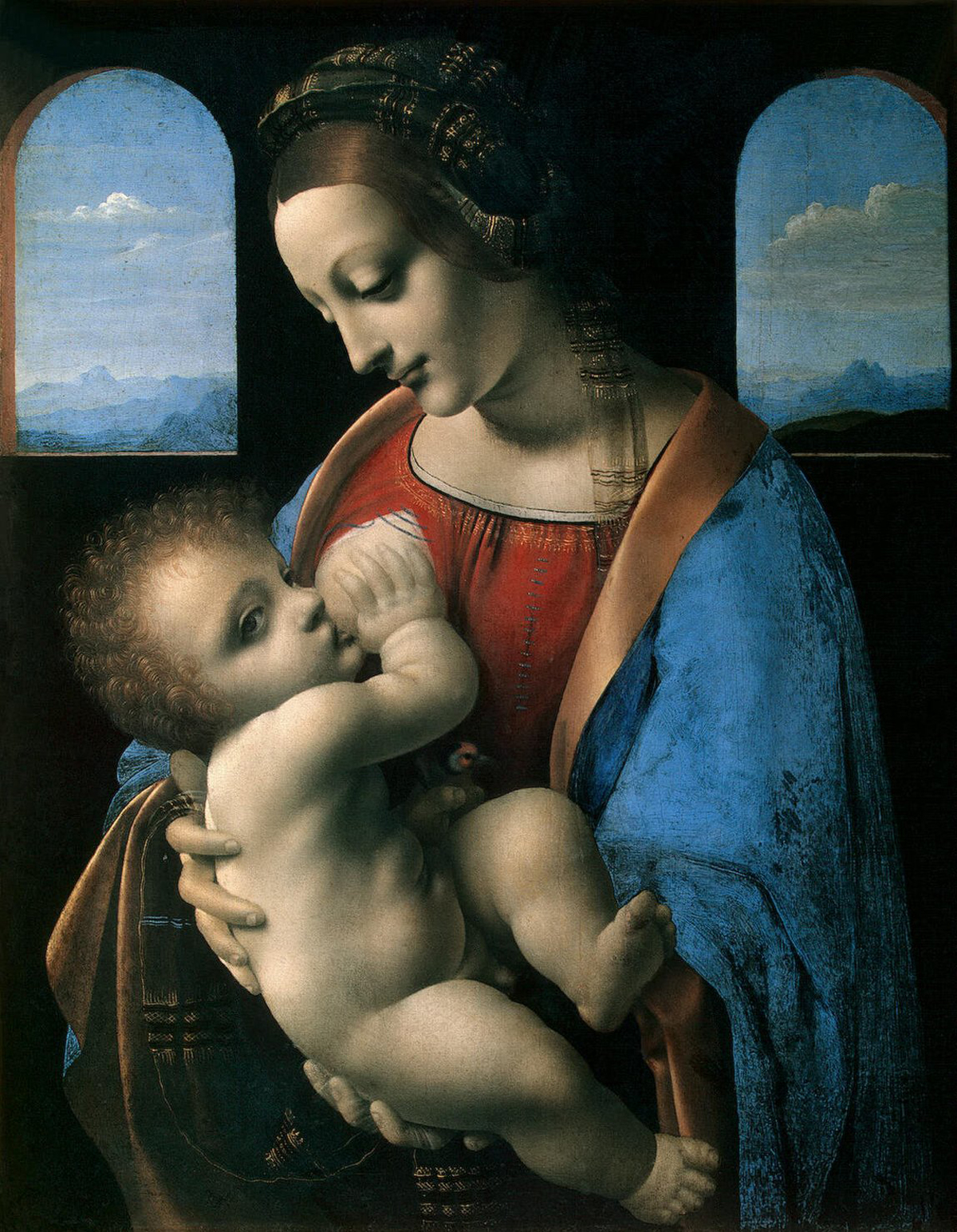 madonna and child leonardo da vinci