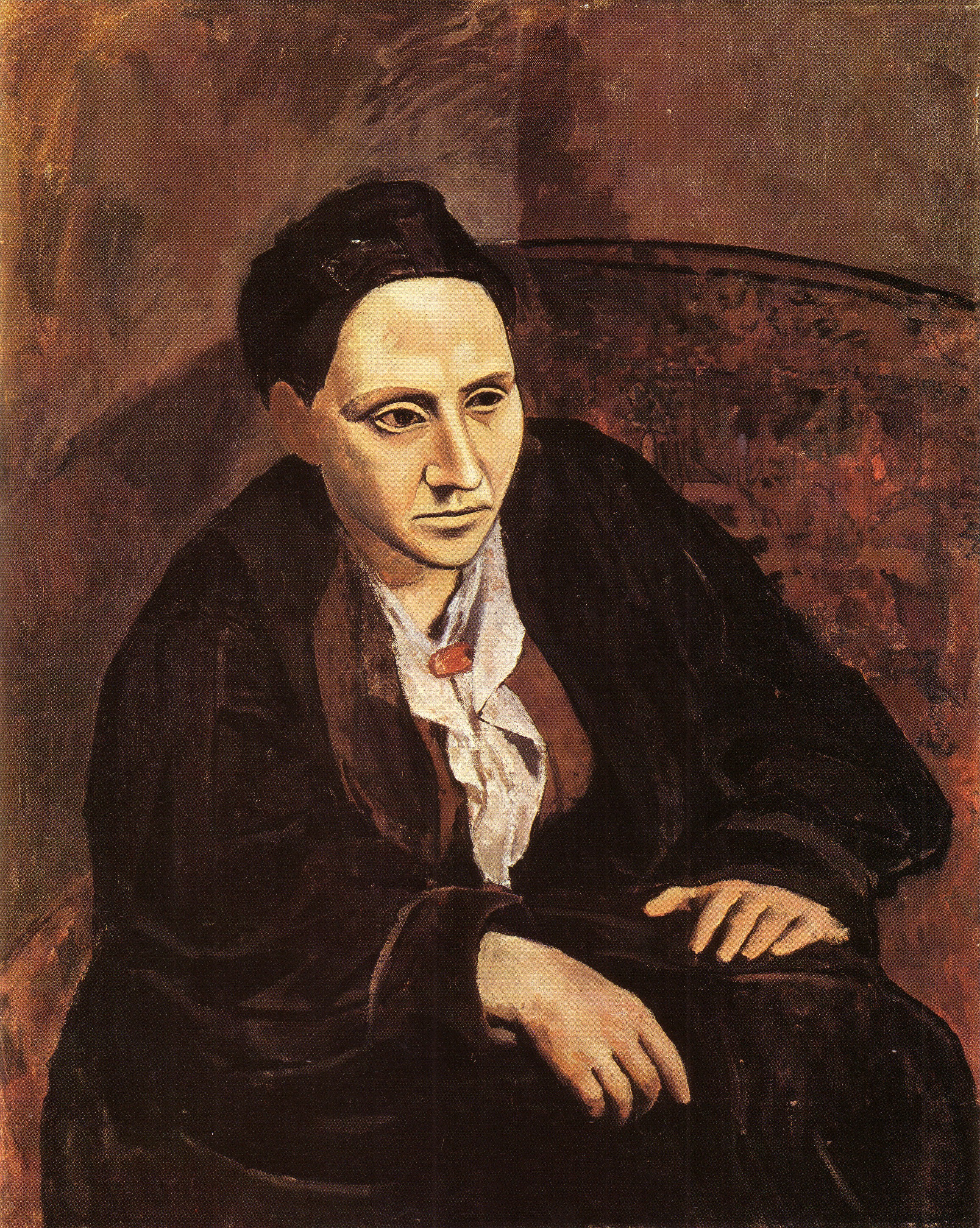 Portrait of Gertrude Stein 1905-06