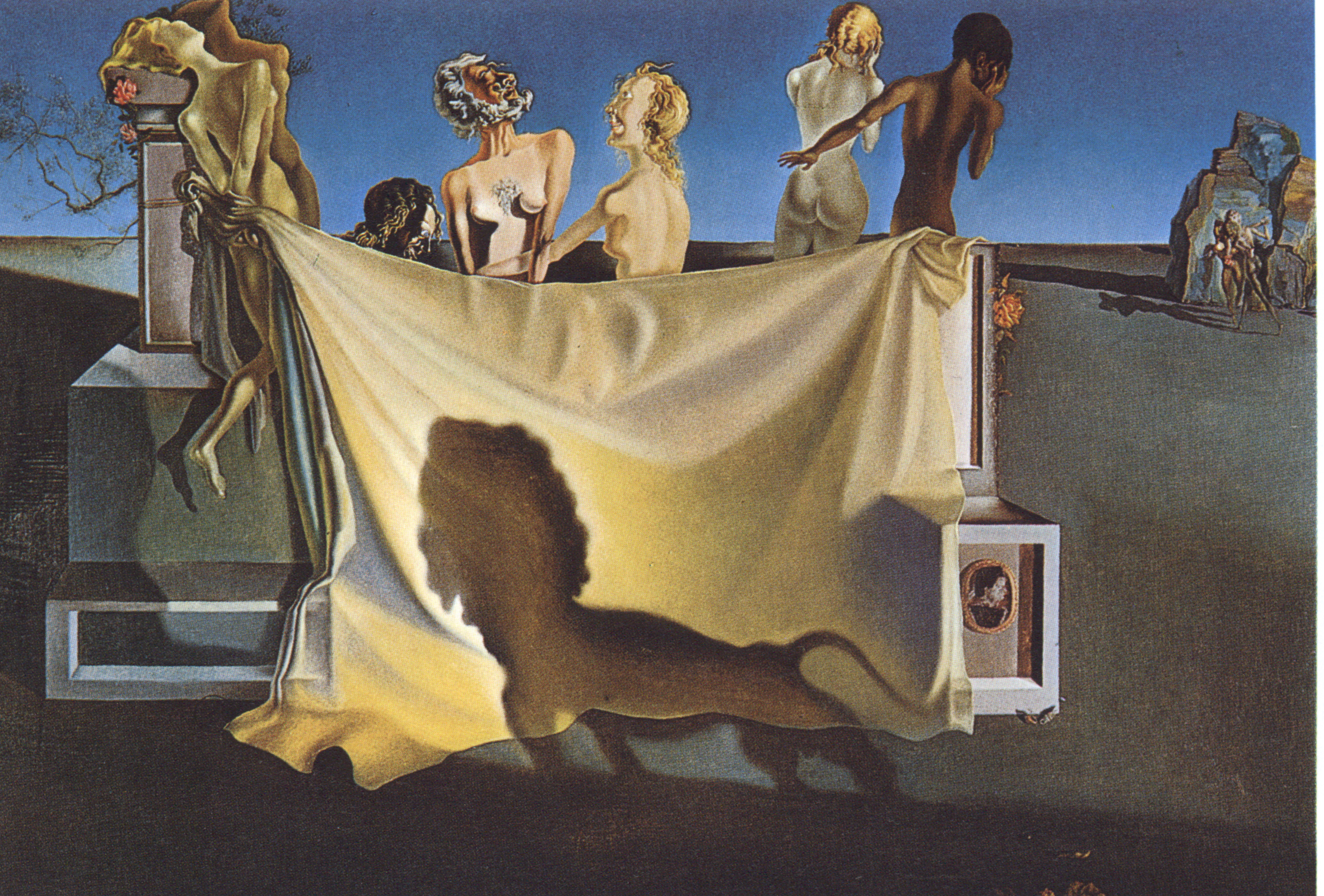 The Old Age of William Tell Salvador Dali 1931