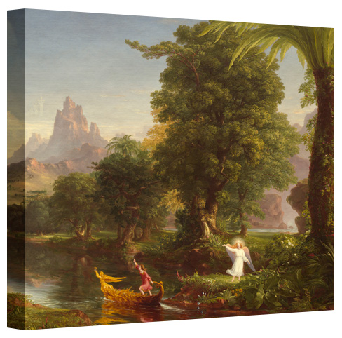 Thomas Cole Voyage Of Life Youth