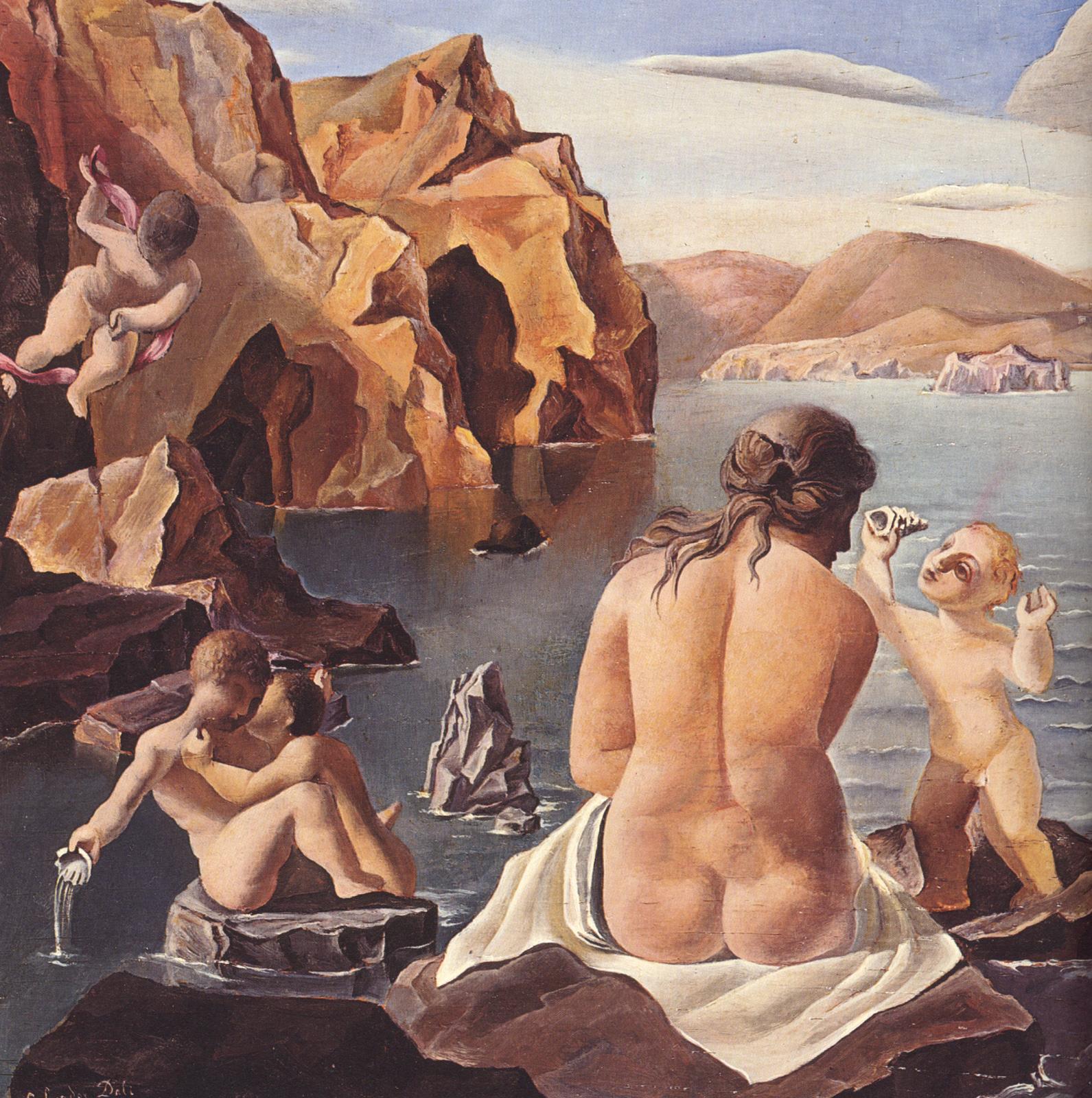 Venus with Cupids 1925