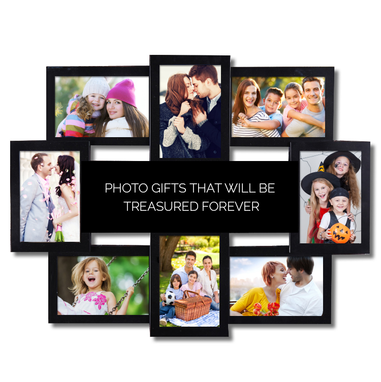 display the photo collage on your bedroom