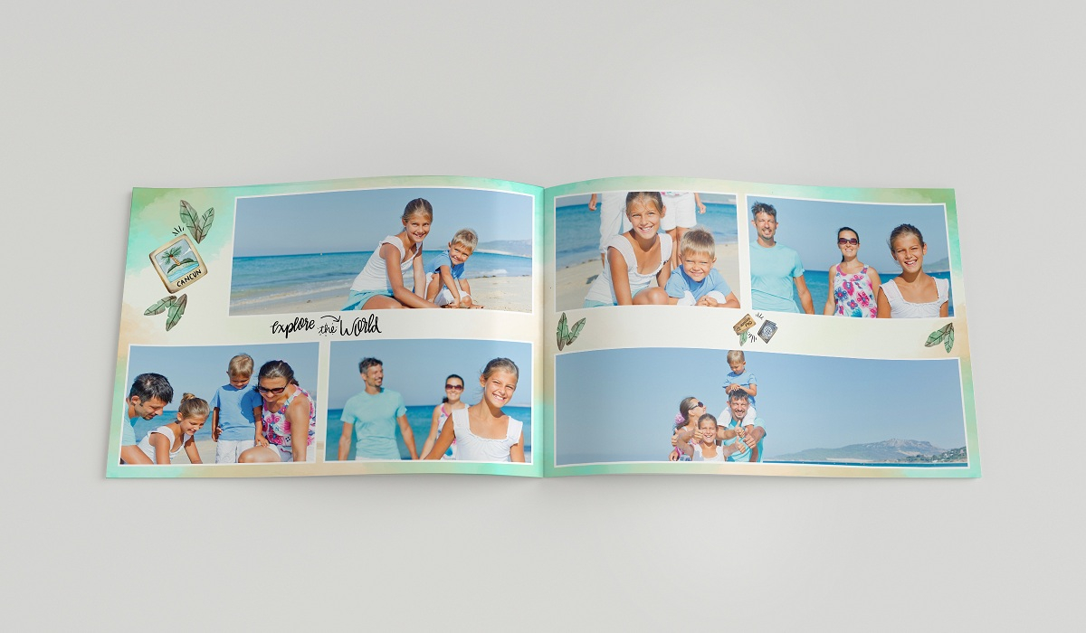 Create Your Own Personalised Photo Album