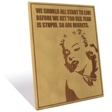 custom engraved plaques from Wood