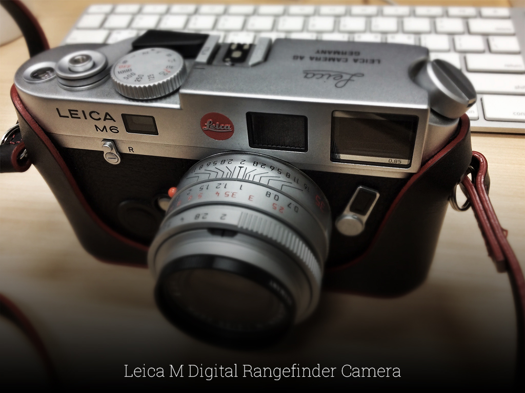 Leica M Digital Rangefinder Camera