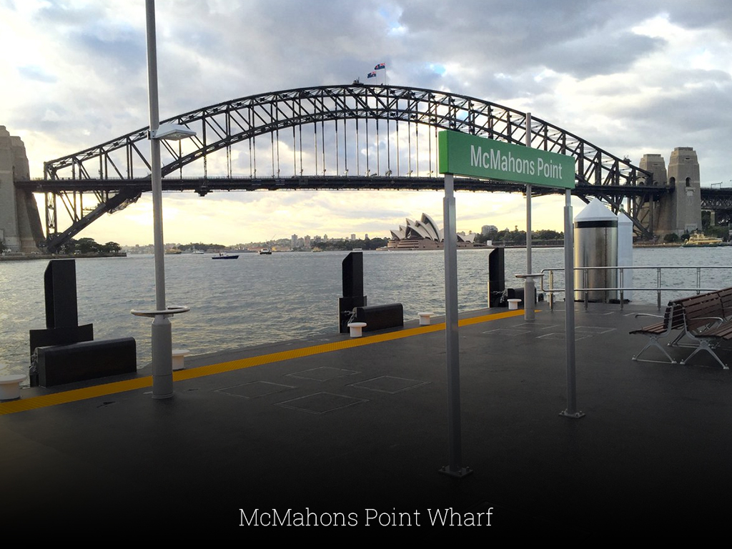 McMahons Point Wharf