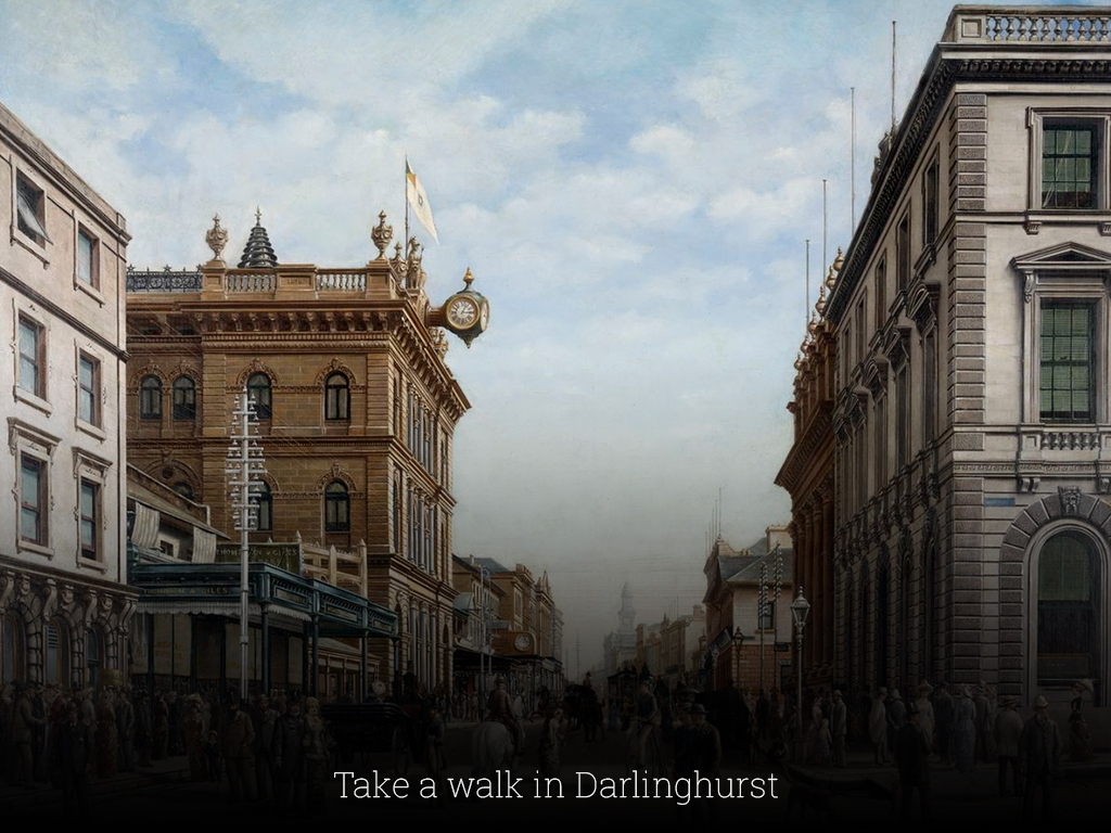 Take a walk in Darlinghurst