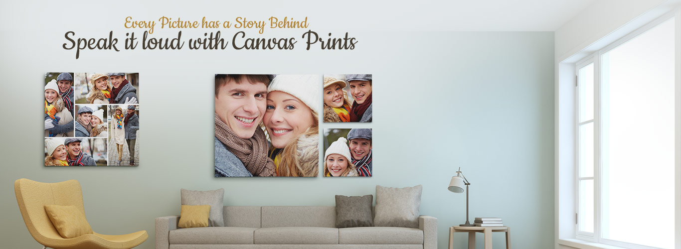 Speak it loud with Canvas Prints