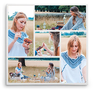 Canvas Prints Photo Collage