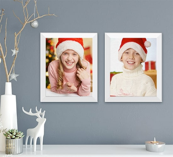 Gift any Photo on Framed Canvas Prints to Make it an Art