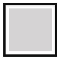 Modern Black Frame