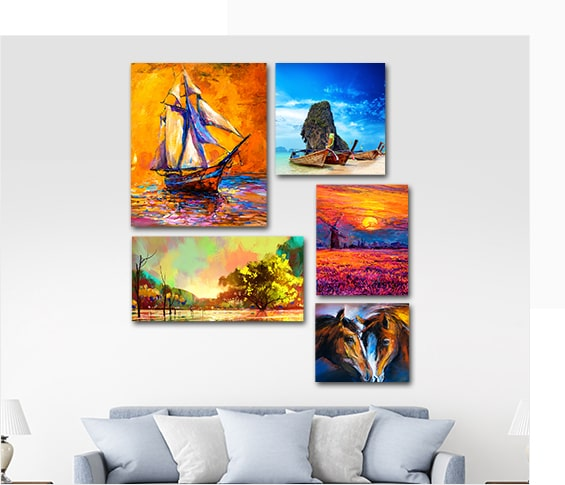 Customise Your Photos on Canvas