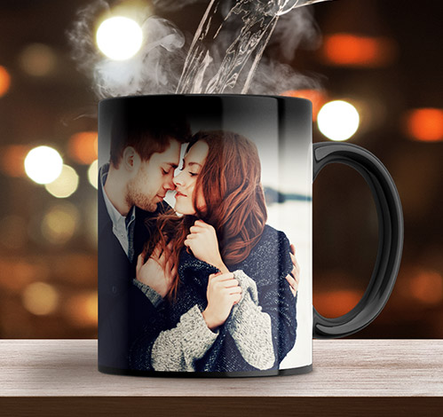 Create a magic photo mug