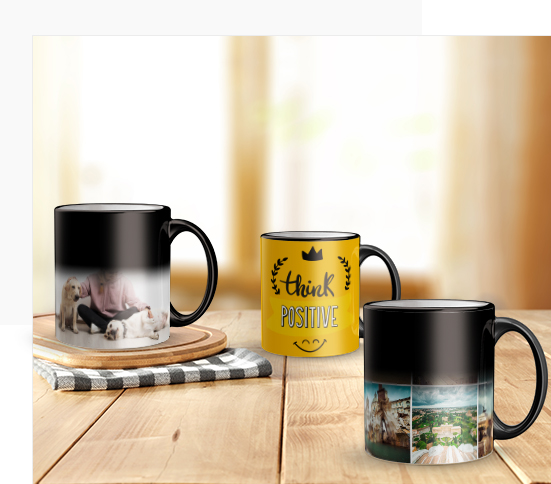 Personalised Magic Image Mugs