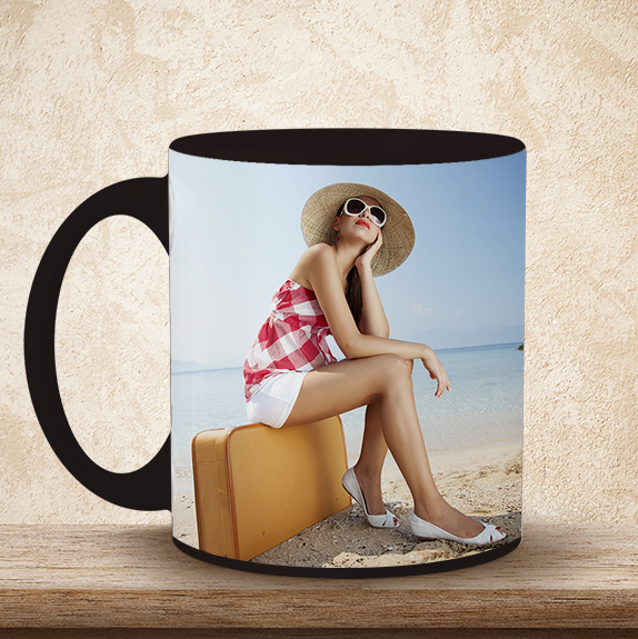 Create your own personalised travel photo mugs