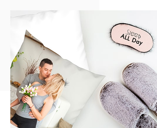 Personalised Photo Pillow Cases to Make Your Bed Look Prettier