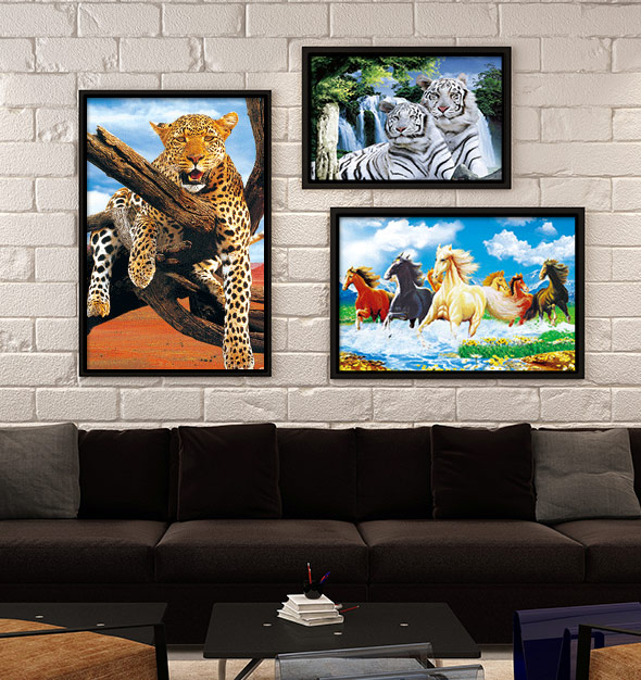 Wild Animal 3D Picture Frames