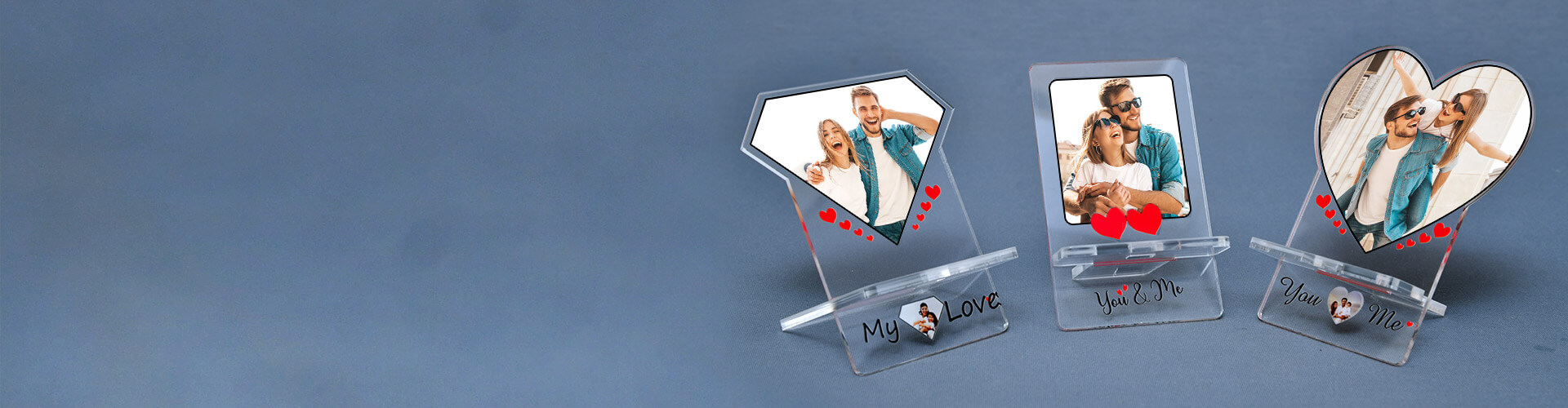 Personalised Acrylic Mobile Stand