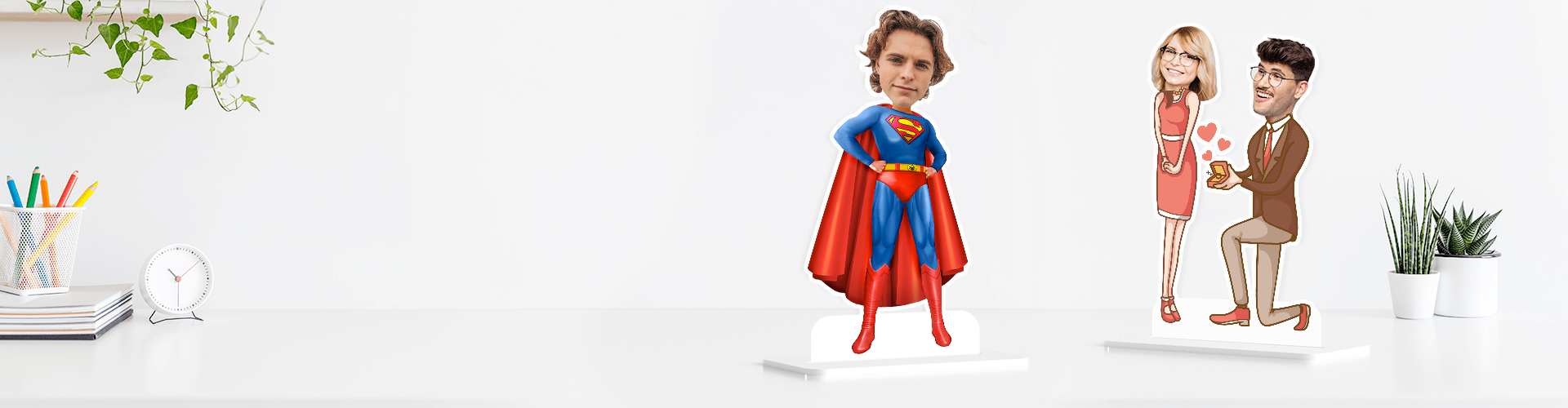 Caricature Photo Stand