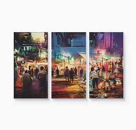 Split Canvas