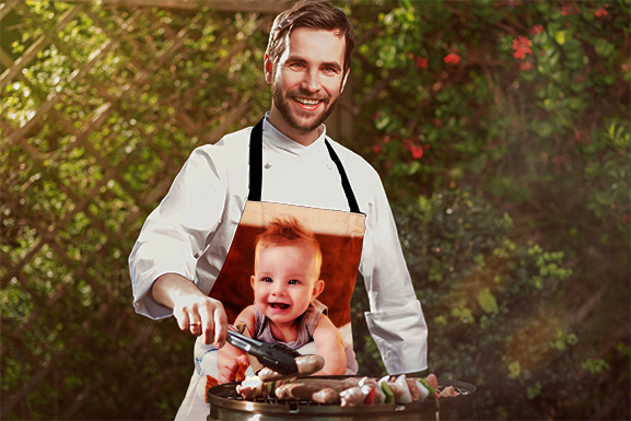 Present a Uniquely Personalised Apron for Your Top Chef