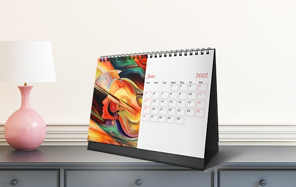 Home or Office, Photo Desk Calendars Fit Your Space