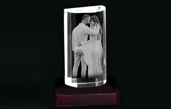 Create your 3D Crystal Photo Cube